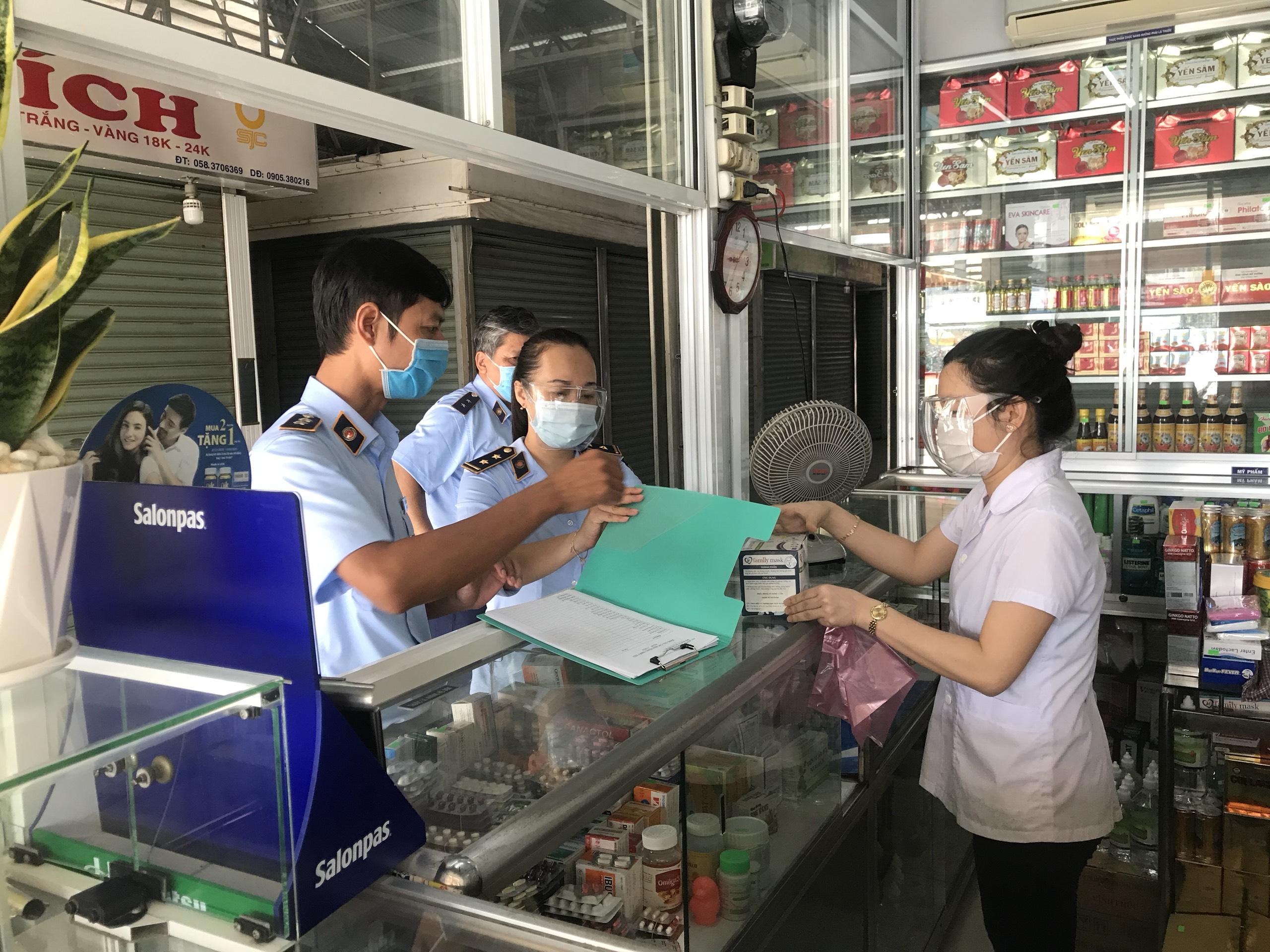 Khánh Hòa: Tăng cường kiểm tra mặt hàng vật tư, trang thiết bị y tế trong tình hình mới.